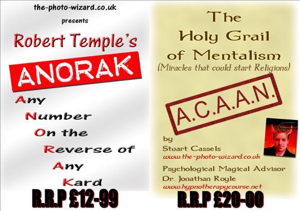 A.C.A.A.N - Holy Grail Mentalism & A.N.O.R.A.K