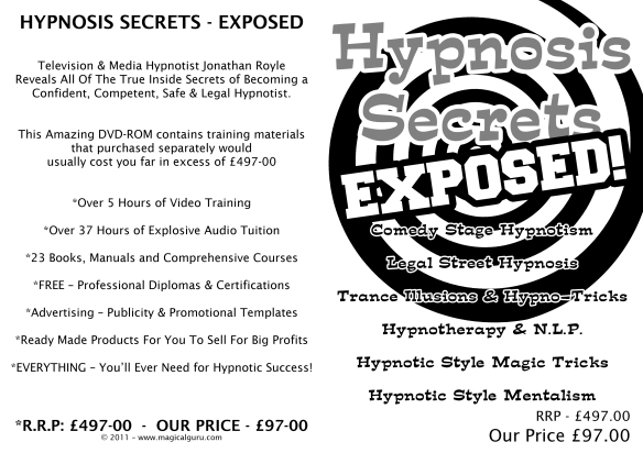 Hypnosis & Trance Illusion Secrets Exposed