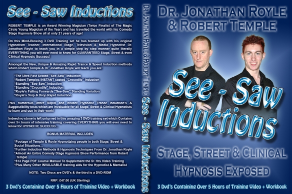 See-Saw Rapid & Instant Hypnosis Inductions For Stage - Street & Clinical