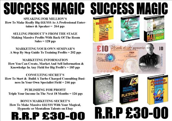 Success Magic - Making Big $$$/£££ with Your Talents