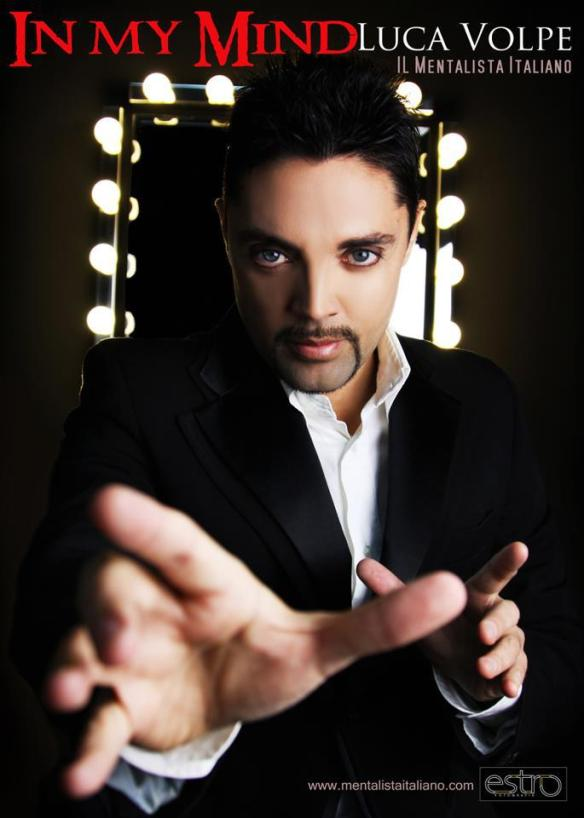 Luca Volpe - Inside My Mind - Amazing 2 Person Telepathy Act - Manchester Festival of Magic And Mentalism - Wednesday 28th March at 9pm - Tickets £6-00