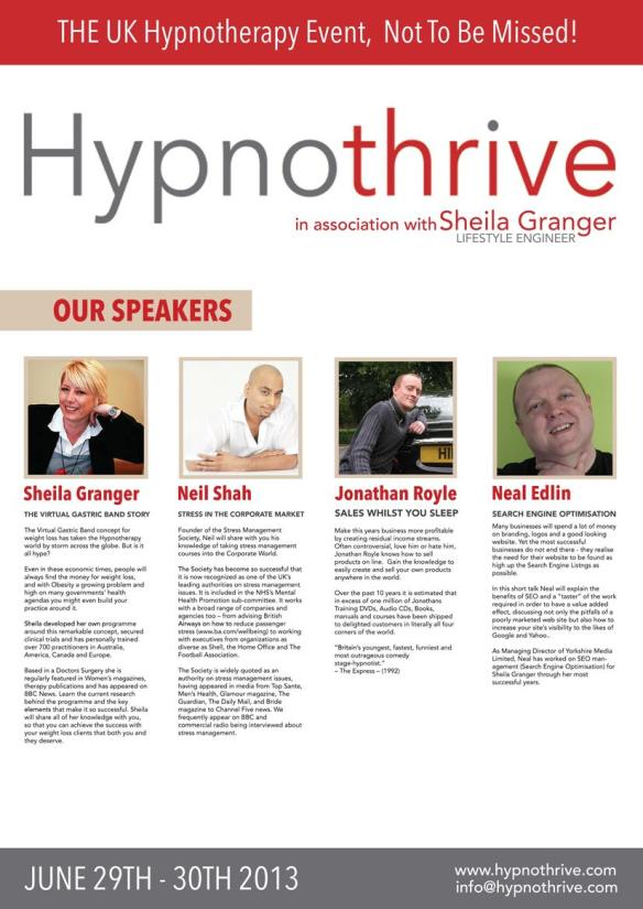 Hypnothrive Jonathan Royle Sheila Granger