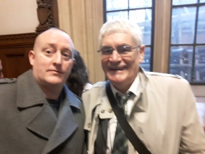 With Alistair Morgan the brother of the Late Daniel Morgan