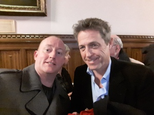 In Parliament with Film Star Hugh Grant a Huge Supporter of the Hacked Off Campaign
