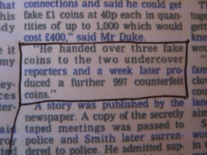 Close-up (click on it for larger image) from the Manchester Evening News Court Report Published on 2nd March 1998