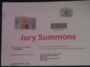 I would not be allowed to do Jury Service if even a fraction of the Rubbish Some Vindictive Liars post about me on the Web were true in any manner!