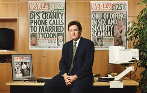 Piers Morgan was appointed editor of The News of the World in 1994 aged 29.
