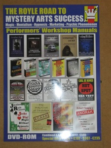 The Royle Road To Mystery Arts Success - Front Cover