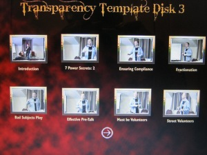 Disk Three - Transparency Template