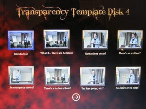 Disk Four - Transparency Template