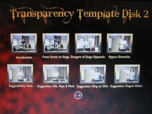 Disk Two - Transparency Template