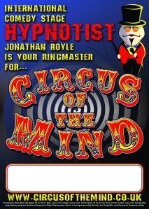 Circus of the Mind Comedy Hypnotist Hypnotism Game Show