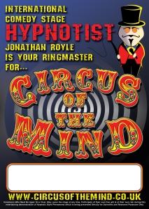 Comedy Stage Hypnotist Jonathan Royle