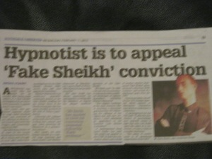 "Hypnotist is to Appeal Mazher Mahmood ""Fake Sheikh"" Conviction"