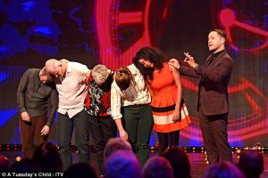 Keith Barry Hypnosis on ITV's You're Back In The Room