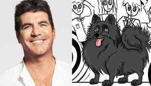 Simon Cowell and Hypnodog