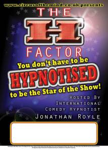 You're Back in The Room Hypnosis Game Show ITV