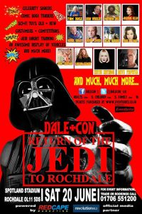 Dale Con 3 Return of the Jedi to Rochdale