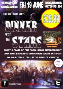 Dinner With Stars (Pre Dale Con 3) with Mind Control Entertainment from Jonathan Royle