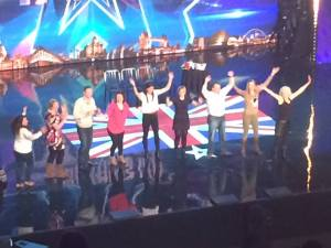 Trance Lady Joanna Cameron Female Hypnotist on Britains Got Talent 2015