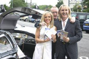 The Speakmans & Back To The Future Delorian