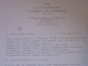 Hypnosis Hall of Fame