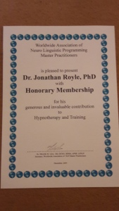 Worldwide Association of Neuro Linguistic Programming Master Practitioners