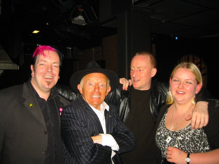 Jonathan Royle with his Wife Rachel & current Order of the Magi President Rochdale Resident Stuart Cassels one evening with the Late & Great Paul Daniels.