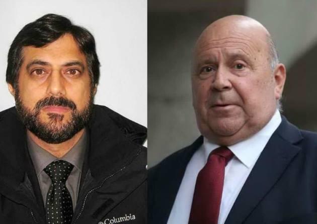 Alan Smith with Mazher Mahmood