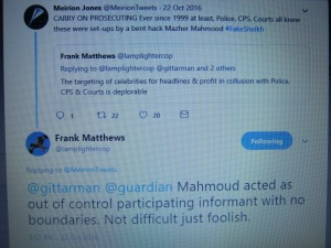 Panorama Producer Speaks about Mahmood on Twitter