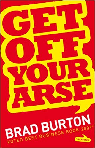 Get Off Your Arse by Brad Burton Reviewed by British Bad Boy of Hypnosis Jonathan Royle