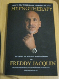 Hypnotherapy Book by Freddy Jacquin Father Dad of Anthony Jacquin