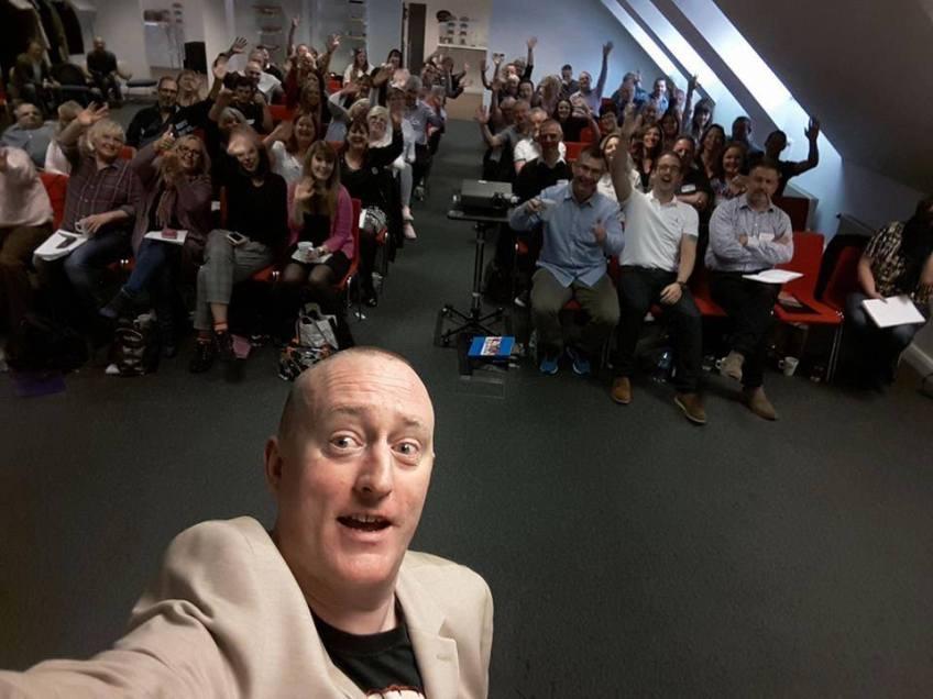 Hypnotist Jonathan Royle Speaker for Hypnotherapy NLP & IM Conventions, Seminars & Events