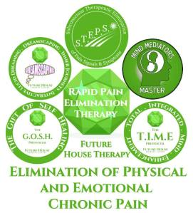 Rapid Pain Elimination Therapy REPT is offered by Licensed Practitioners who have studied Sanomentology & thus are Master Sanomentologists