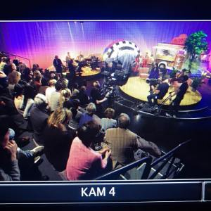 Can you spot Hypnotist & Media Prankster Jonathan Royle sat in the audience of Television Without Frontiers by Andjeas Ejiksson in Sweden at SVT