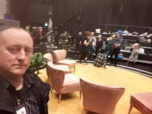 Hypnotist Jonathan Royle in Sweden ready for Swedish Hypnotist on Television Without Frontiers by Andjeas Ejiksson