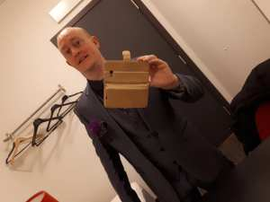 British illusionist och hypnotisör Jonathan Royle Master of Hypnose, Hipnose, NLP, Hypnotherapy, Stage Hypnotism & Comedy Stage Hypnosis Mind Magician for Television Without Frontiers by Andjeas Ejiksson
