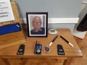 After the Broken Wand Ceremony the Wand joins other important Symbols of Jack Griggs Life & career.