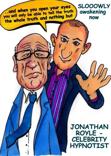 Comedian Hypnotist & Comedy Stage Hypnosis Entertainer & Hypnotism Show Presenter to the Stars Jonathan Royle