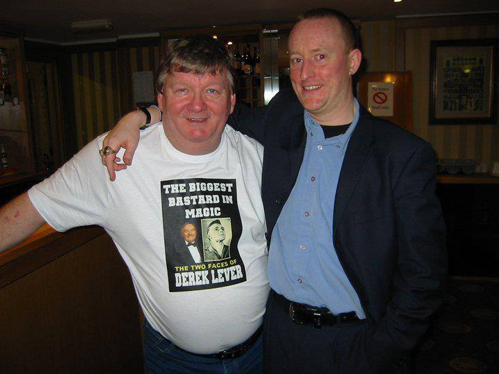 Hypnotist Jonathan Royle with Magician Carl De Rome at Blackpool Magic Convention