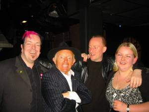 Hypnotist Jonathan Royle with the Late & Great Magician Paul Daniels