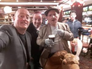 Hypnotist Jonathan Royle meets Old Raab in the Ruskin at Blackpool Magic Convention