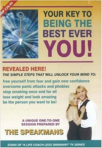 The Key to Being The Best Ever You Audio CD from Nik Speakman and Eva Speakman the Life Coaches & Schema Conditioning Psychotherapists. THE Script for this CD was originated, written, perfected and produced by Celebrity Hypnotist Jonathan Royle who gave permission for his script to be used for this CD