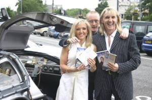 Celebrity Hypnotist & NLP Hypnotherapy Expert Jonathan Royle with Nik Speakman & Eva Speakmans aka The Speakmans Life Coaches & Schema Conditioning Psychotherapists