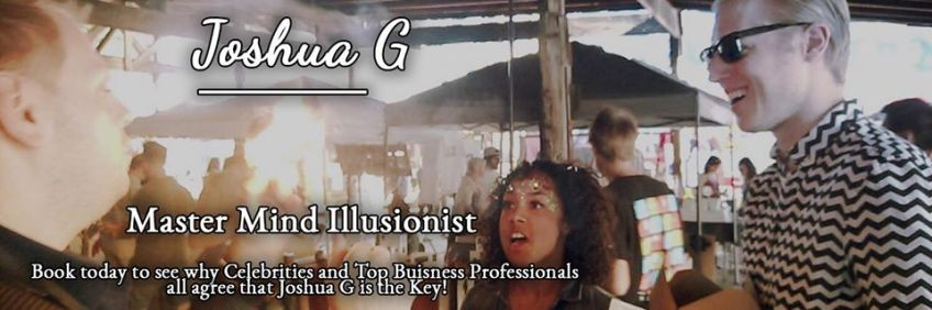 Joshua Graham aka Joshua G Magician & Hypnotist
