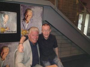 The Late British Spiritualist Medium & Ghost Hunting Psychic Derek Acorah and Hypnotist, NLP Hypnosis Mind Therapist & Psychic Debunker Alex William Smith aka Jonathan Royle
