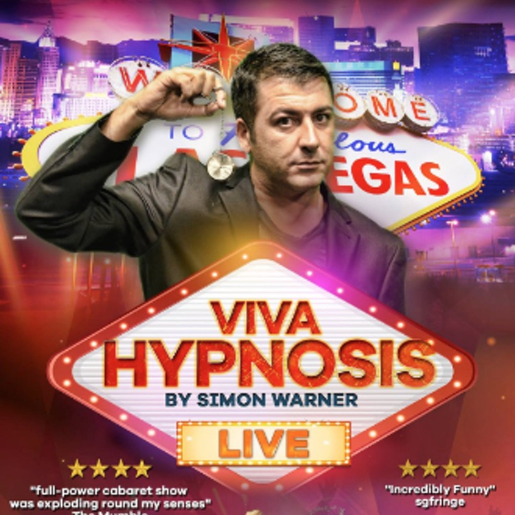 Simon Warner Comedy Hypnotist who choose Jonathan Royle as one of his first Mentors & teachers