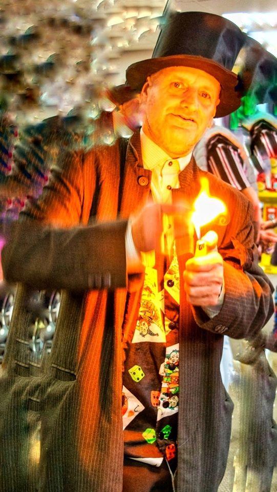 Roy Brownlowe aka Magician & Hypnotist Roy Stone