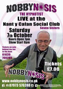 Jason Nobby Morgan aka Nobbynosis Comedy Stage Hypnotist