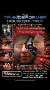 Al Shea The TranceFormer Comedy Stage Hypnotist
